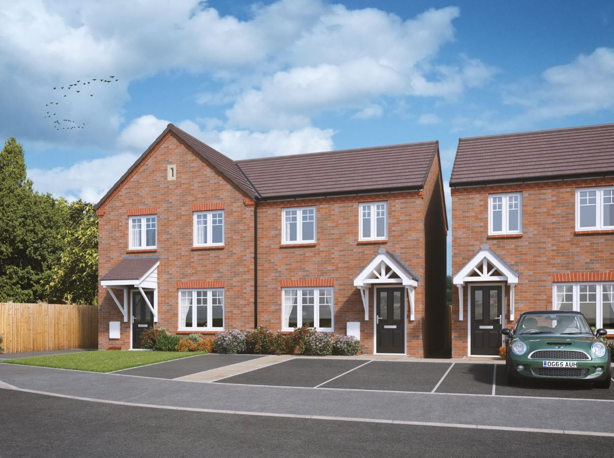 2 Amp 3 Bedroom Homes Available Now At Sheasby Park Fradley