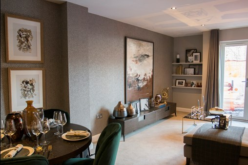 Lichfield One show home dining