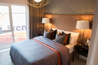 Lichfield One show home bedroom