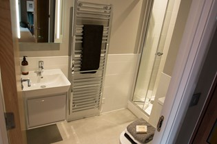 Lichfield One show home bathroom